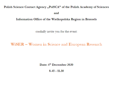 WiSER - Women in Science and European Research